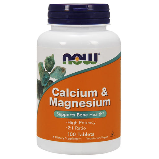 Now Foods Vitamins & Minerals Default Now Foods Calcium-Magnesium 500/250MG 100T (1191315963948)