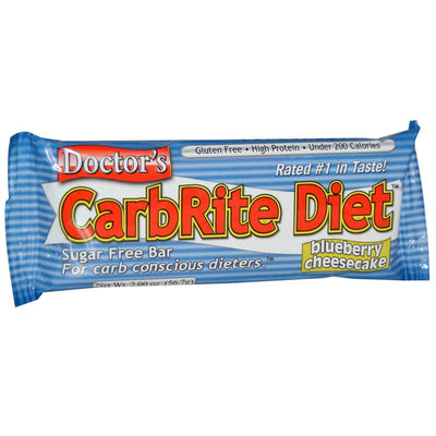 Universal Sports Nutrition & More Blueberry Cheesecake Universal DRs Diet CarbRite Bars 12/Box (580604592172)