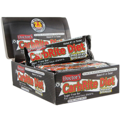 Universal Sports Nutrition & More Chocolate Brownie Universal DRs Diet CarbRite Bars 12/Box (580604592172)