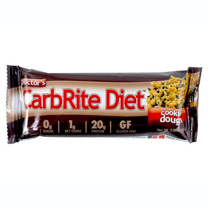 Universal Sports Nutrition & More Cookie Dough Universal DRs Diet CarbRite Bars 12/Box (580604592172)