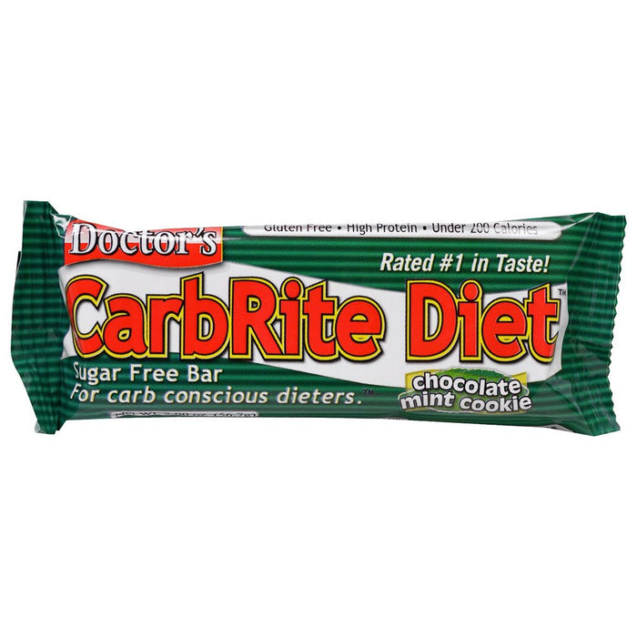 Universal Sports Nutrition & More Chocolate Mint Universal DRs Diet CarbRite Bars 12/Box (580604592172)