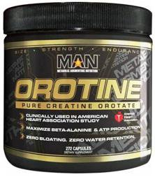 MAN Sports Nutrition & More MAN Orotine 272 Caps (581020778540)
