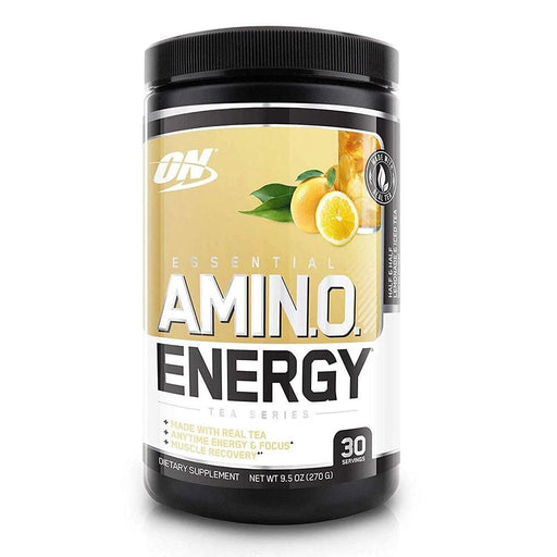 Optimum Nutrition Sports Nutrition & More Half & Half Lemonade Iced Tea Optimum Nutrition Amino Energy 30 Servings (581173674028)