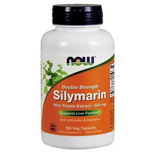 Now Foods Vitamins, Minerals, Herbs & More Now Foods Silymarin Milk Thistle 300mg 100 Vege Caps (582301351980)