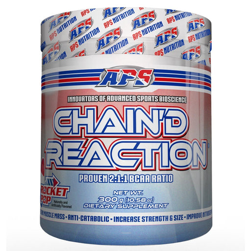 APS Nutrition Sports Nutrition & More Rocket Pop APS Nutrition Chain'd Reaction 300 Grams (582441533484)