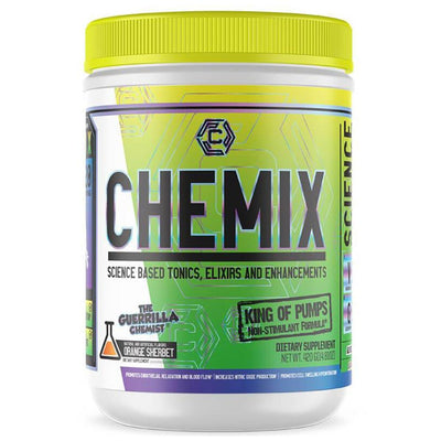 Chemix Sports Performance Recovery King of Pumps Orange Sherbet Chemix King of Pumps 20 Servings (4314443513900)