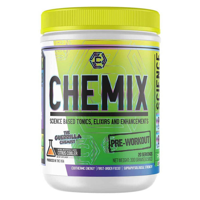 Chemix Sports Performance Recovery Citrus Cooler Chemix Pre-Workout 20 Servings (1713581555756)