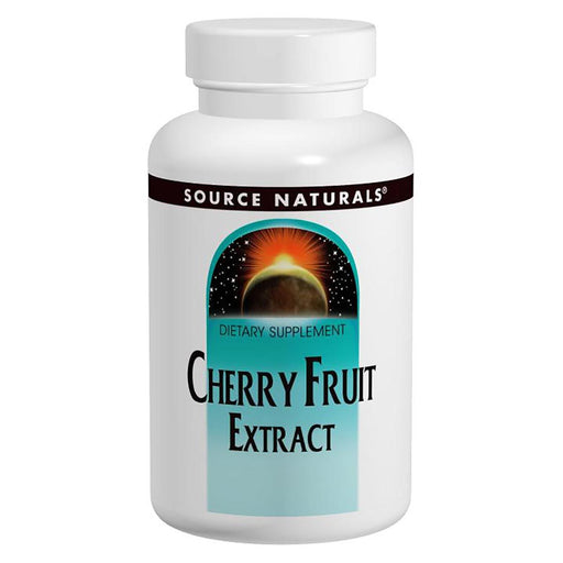 Source Naturals Vitamins, Minerals, Herbs & More Source Naturals Cherry Fruit Extract 500mg 90 Tabs (580837343276)