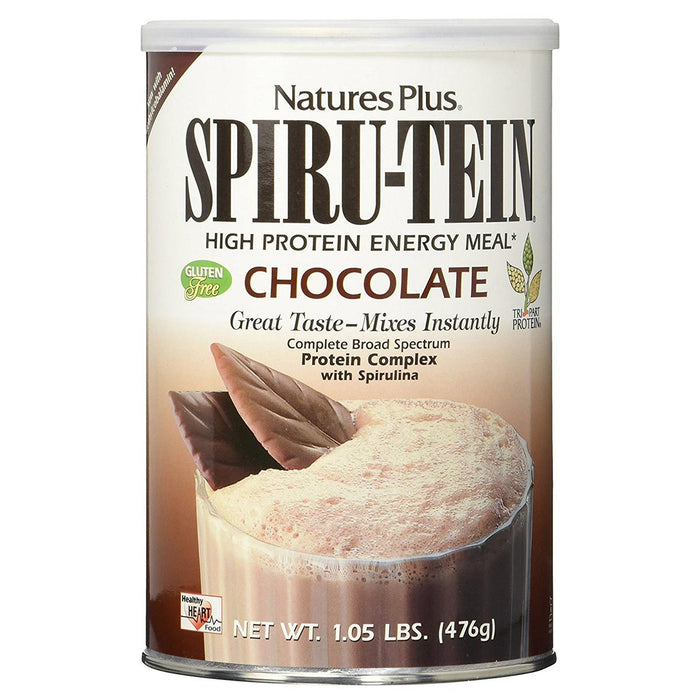 Nature's Plus Sports Nutrition & More Chocolate Nature's Plus Spiru-tein 1.1 Lbs (580550361132)