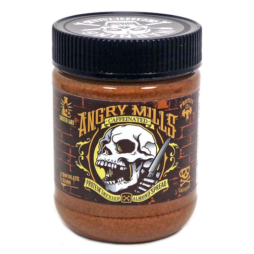 Sinister Labs Sports Nutrition & More Angry Mills Caffeinated Protein Infused Almond Spread Chocolate Chaos (582644105260)