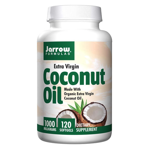 Jarrow Formulas Vitamins, Minerals, Herbs & More Jarrow Formulas Extra Virgin Coconut Oil 120 Softgels (581529042988)