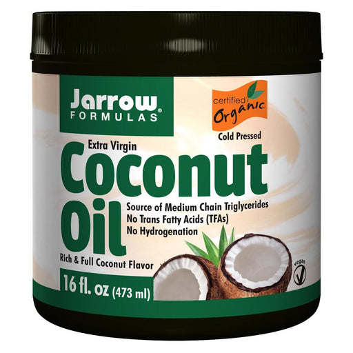 Jarrow Formulas Vitamins, Minerals, Herbs & More Jarrow Formulas Extra Virgin Coconut Oil 16oz (581526061100)