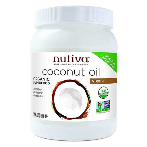 Nutiva Vitamins, Minerals, Herbs & More Nutiva Organic Extra Virgin Coconut Oil 54oz (580858806316)