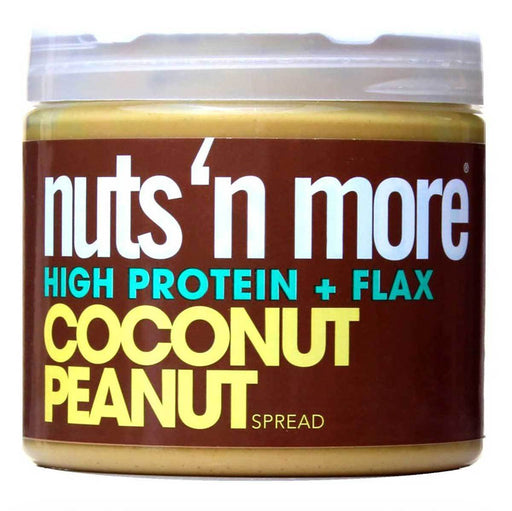 Nuts 'N More Vitamins, Minerals, Herbs & More Nuts 'N More Coconut Peanut Butter 16 Oz (582397886508)