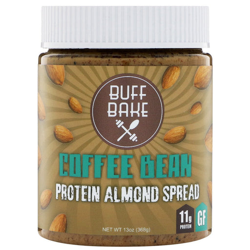 Buff Bake Sports Nutrition & More Buff Bake Coffee Bean Protein Almond Spread 13oz (582530007084)