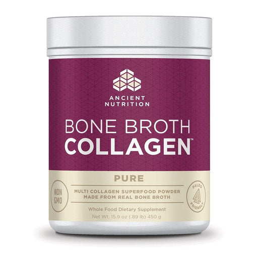 Ancient Nutrition Sports Nutrition & More Unflavored Ancient Nutrition Bone Broth Collagen 30 Servings (582573686828)