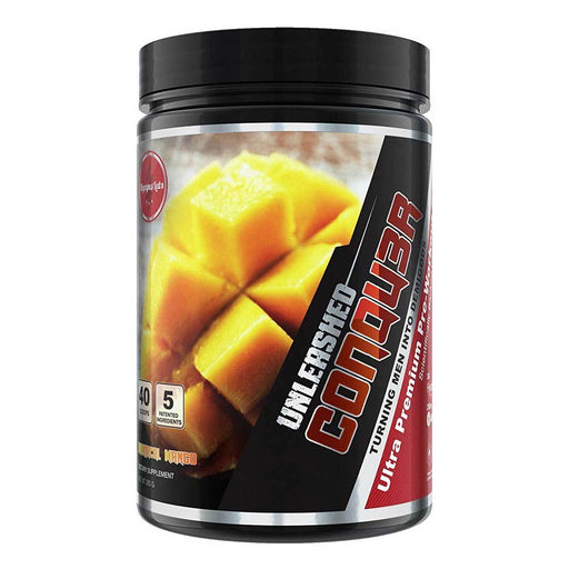 Olympus Labs Sports Nutrition & More Maniacal Mango Olympus Labs Conqu3r Unleashed 20 Servings (582507921452)
