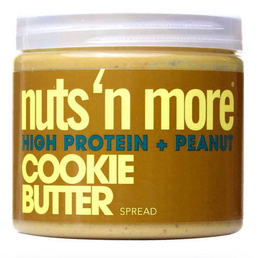 Nuts 'N More Sports Nutrition & More Nuts 'N More Cookie Butter 16 Oz (582512771116)