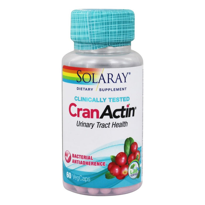 Solaray Vitamins, Minerals, Herbs & More Solaray CranActin Cranberry AF Extract 60 caps (580499210284)