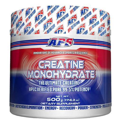 APS Nutrition Sports Nutrition & More APS Nutrition Creatine Monohydrate 500 Grams (581534187564)