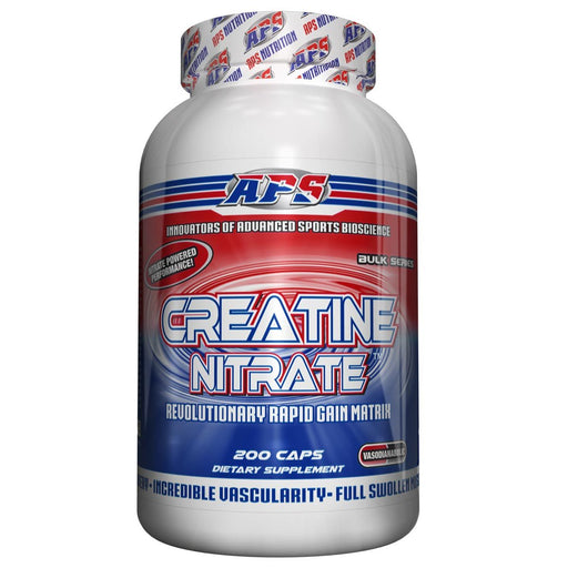 APS Nutrition Sports Nutrition & More APS CREATINE NITRATE 200C (582606454828)