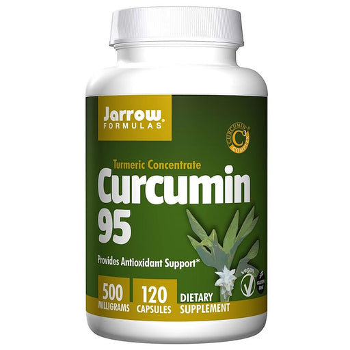Jarrow Formulas Sports Nutrition & More Jarrow Formulas Curcumin-95 500mg 120 Caps (581529894956)