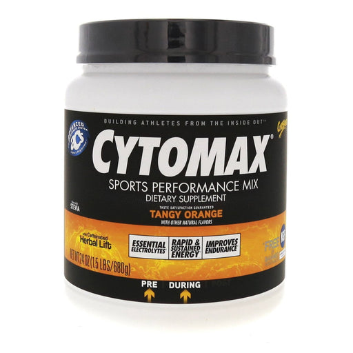 CytoSport Sports Nutrition & More Tangy Orange CytoSport Cytomax 1.5 Lbs (580594630700)