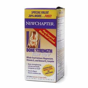 New Chapter Vitamins, Minerals, Herbs & More New Chapter Bone Strength Take Care 20% More Free 144 Tabs (581216600108)