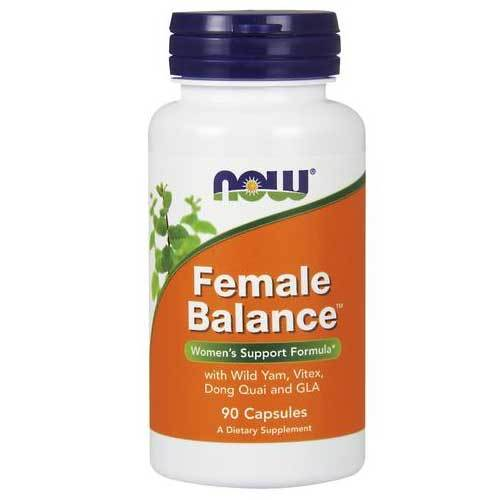 Now Foods Vitamins, Minerals, Herbs & More Now Foods Female Balance 90 Capsules (582289752108)