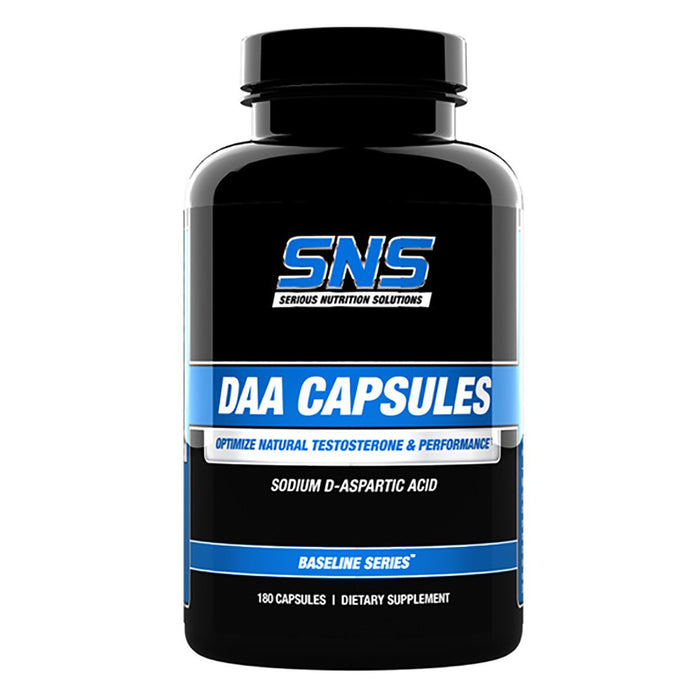 Serious Nutrition Solutions Serious Nutrition Solutions DAA 3120mg 180 Caps (581283446828)