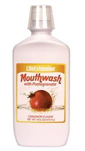 Life Extension Vitamins, Minerals, Herbs & More Life Extension Mouthwash with Pomegranate 16oz (581065179180)