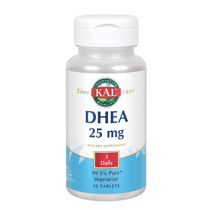 Kal Specialty Health Products Default KAL DHEA 25mg 30 Tablets (1817145311276)
