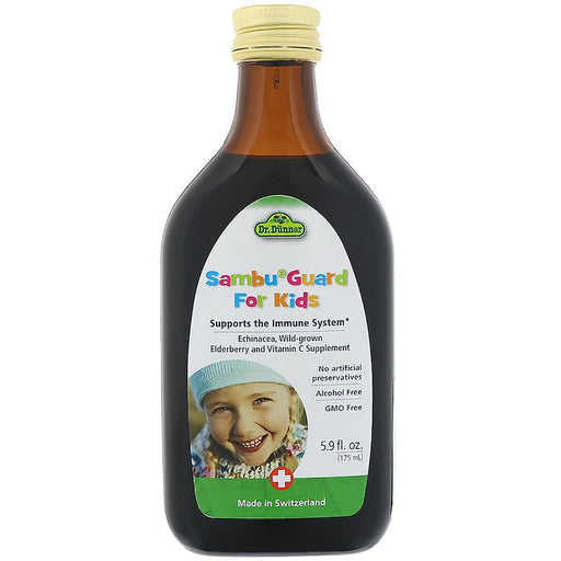 Flora (Udo's Choice) Vitamins, Minerals, Herbs & More Flora Dr. Dunner Sambu Guard for Kids 5.9 Fl Oz (580937023532)