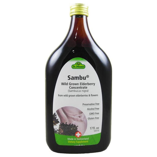 Flora (Udo's Choice) Vitamins, Minerals, Herbs & More Flora Dr. Dunner Sambu Wild Grown Elderberry Concentrate 5.9 Fl Oz (581006983212)