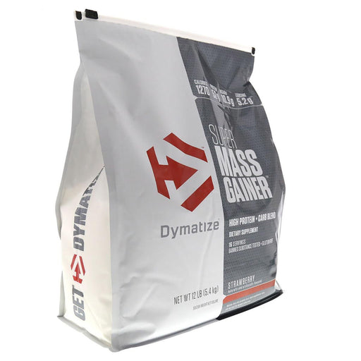Dymatize Sports Nutrition & More Gourmet Vanilla Dymatize Super Mass Gainer 12 Lbs (581477629996)