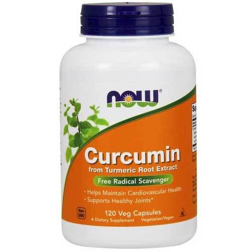 Now Foods Vitamins, Minerals, Herbs & More Now Foods Curcumin Extract 95% 665 Mg 120 Vegetable Capsules (582177259564)
