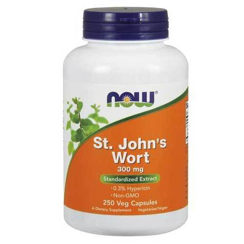 Now Foods Vitamins, Minerals, Herbs & More Now Foods St. John's Wort 300 Mg 250 Capsules (582282281004)