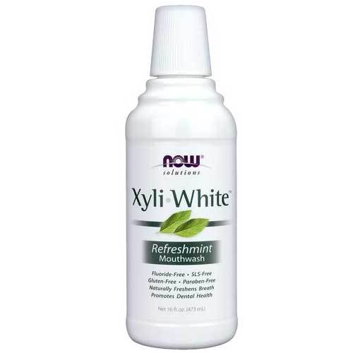 Now Foods Vitamins, Minerals, Herbs & More Now Foods Xyliwhite Refreshmint Mouthwash 16 Fl Oz (582215729196)