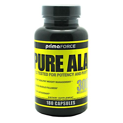 Primaforce Sports Nutrition & More PrimaForce Pure ALA 300mg 180 Caps (581144576044)