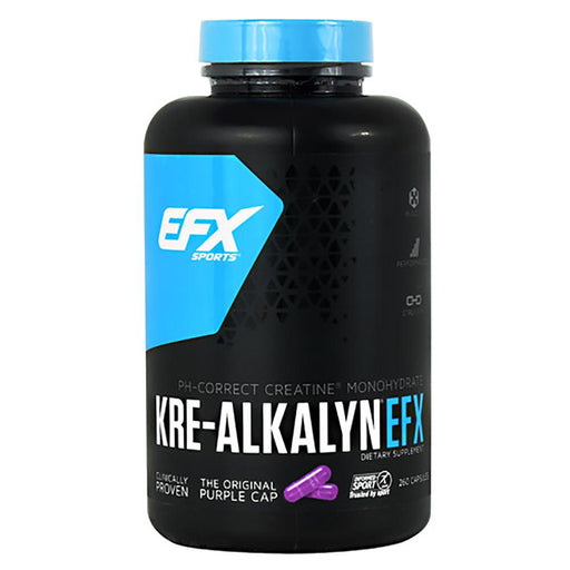 EFX Sports Sports Nutrition & More All American EFX Kre-Alkalyn EFX 750mg 260 Caps (581151850540)