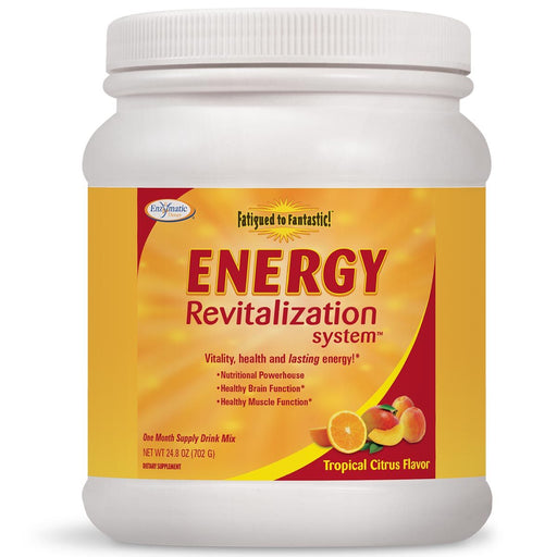 Enzymatic Therapy Vitamins, Minerals, Herbs & More Enzymatic Therapy Fatigued To Fantastic! Energy Revitalization System Citrus Delight 22.2oz (581179834412)