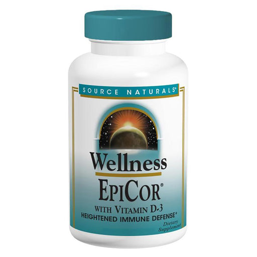 Source Naturals Vitamins, Minerals, Herbs & More Source Naturals EpiCor with Vitamin D-3 500mg 120 Capsules (582140493868)