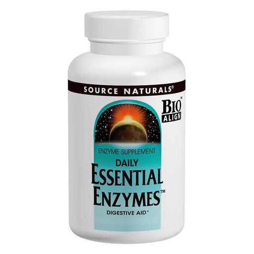 Source Naturals Vitamins, Minerals, Herbs & More Source Naturals Essential Enzymes 60 Capsules (580486201388)