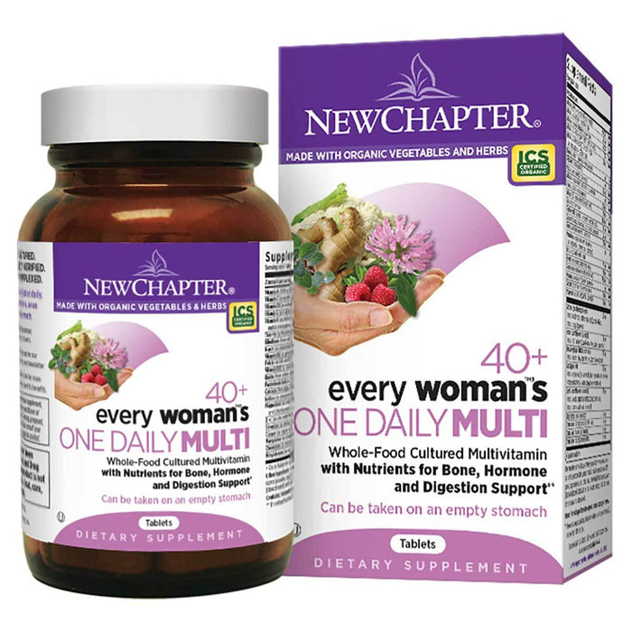 New Chapter Vitamins, Minerals, Herbs & More New Chapter Every Woman's One Daily Multi 40+ 48 Tabs (581392531500)