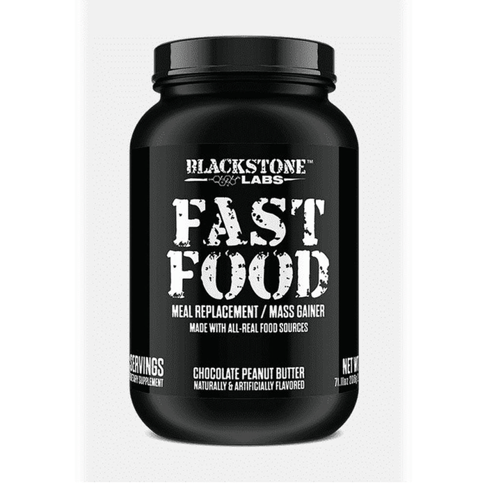 Blackstone Labs Meal Replacement Powders Chocolate Peanut Butter Blackstone Labs Fast Food 56 Servings