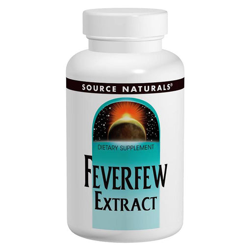 Source Naturals Vitamins, Minerals, Herbs & More Source Naturals Feverfew Extract 50 Tabs (581339185196)