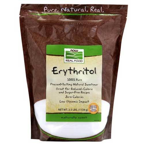 Now Foods Vitamins, Minerals, Herbs & More Now Foods Erythritol 2.5 Lbs (582238273580)