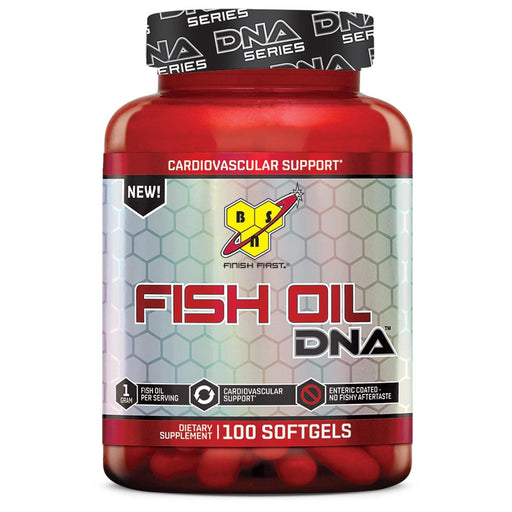 BSN Sports Nutrition & More BSN Fish Oil DNA 100 Softgels (582356074540)