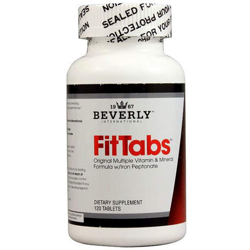 Beverly International Sports Nutrition & More Beverly International FitTABS 120 Tabs (580730322988)