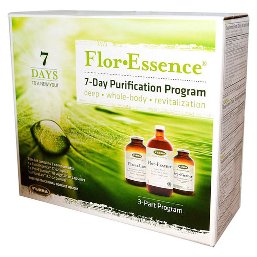 Flora (Udo's Choice) Vitamins, Minerals, Herbs & More Flora Flor-Essence 7-Day Purification Program (581096669228)